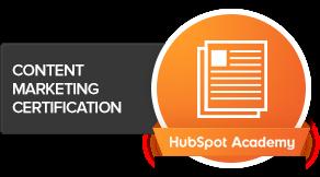 HubSpot Academy - Content Marketing Certification
